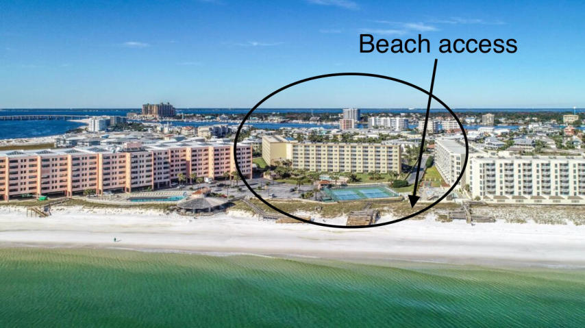 502 GULF SHORE DRIVE UNIT 111 DESTIN FL